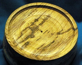 Another Spalted Hackberry Hardwood Base for Bird or Fish carvings 3