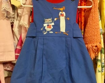 Chocolate Soup Dress 2/3T