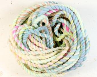 candy crush 4  ... handspun yarn set, weaving creative yarn bundle, hand spun, hand dyed yarn, handspun art yarn