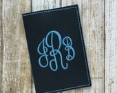 Passport Holder for Women - Faux Leather Passport Cover - Personalized Custom Passport Covers - Monogram Passport Cover- Travel Gift for Her