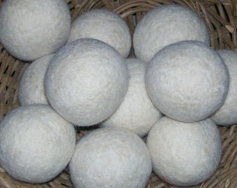 Hand Felted Wool Dryer Balls