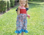 SALE Baby Romper Pattern -- Vintage Baby -- 3 months through 6 girls shorts/capri PDF Instant sewing