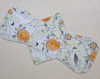 "12.5"" Regular - Halloween Specters - Reusable Cloth Menstrual Pad (12OSMC)"