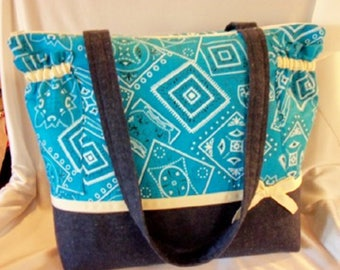 Western Bandana duffle diaper bag great baby shower gift choose from 9 colors Country Cowgirl Cowboy tote bag add saying name personalize it