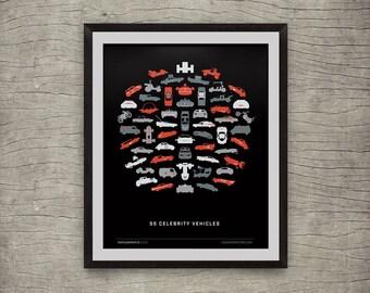 weGo (56 Celebrity Vehicles) Giclee Print
