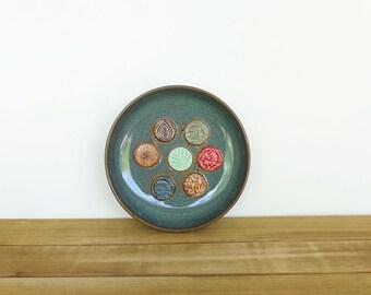 Soap Dish Ceramic, Stoneware Pottery, Sea Mist Glaze, Bathroom, Kitchen Pottery