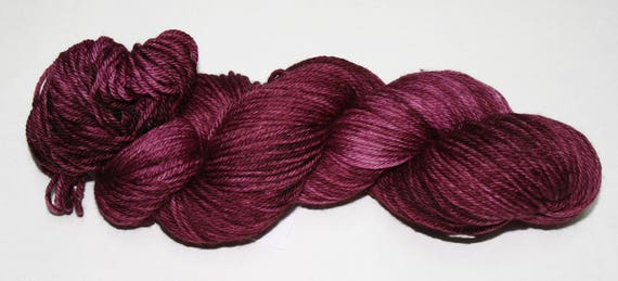 Cabernet Hand Dyed Sock Yarn