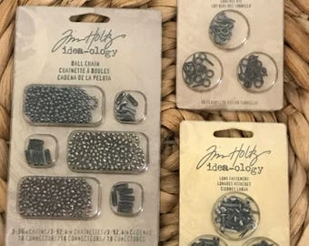 Tim Holtz Idea-Ology Bundle - New in Package
