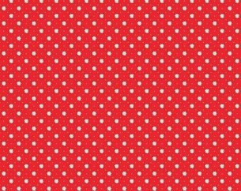 ON SALE Penny Rose Fabrics Gingham Girls By Amy Smart Flower Red