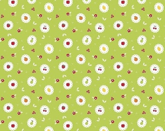 20EXTRA 20% OFF Riley Blake Designs Sweet Orchard Scallop Green