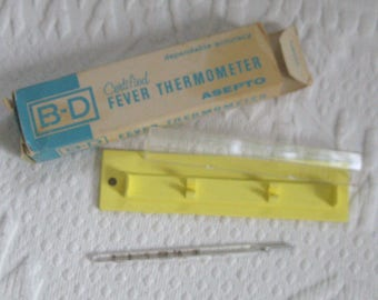 thermometer . clinical thermometer . B-D thermometer . Fever Thermometer . oral thermometer