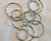Project Rings, Bobbin Rings, Steel Rings For Project Organization