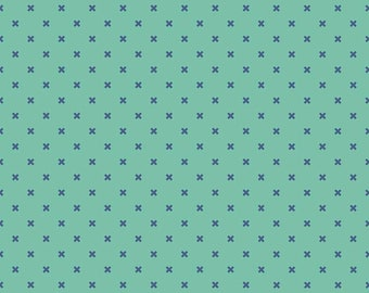 Bee Basics By Lori Holt X Teal (C6410-Teal)
