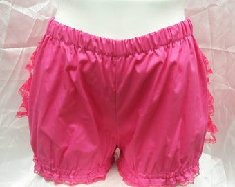 Magenta hot pink Micro mini bloomers adult women