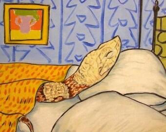 20% off Copperhead Snake Sleeping Animal Art Tile