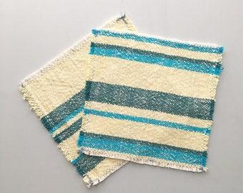 Napkins Handwoven Cotton Napkins Set of 6