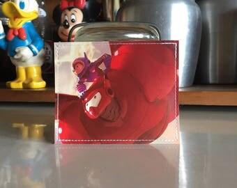Hiro & Baymax Disneyland Map Mini Wallet