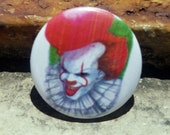 CWA Beep Beep, Richie Pennywise 1 inch Button