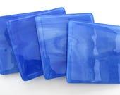 Blue drinks coasters set,...