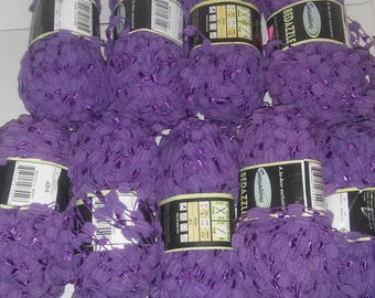 Bedazzle  Purple Yarn