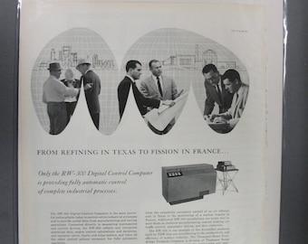 "Off  147   ""  Thompson Computer  ""  Ad - April 1959"