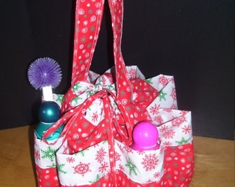 Bingo Bag Holiday Theme....free shipping #007