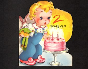 Greeting Card - 2 Years Old