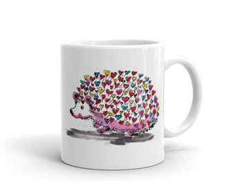 Hedgehog Love Mug made in the USA