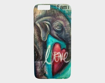 Device Cases iPhone / Samsung (Elephant Love)