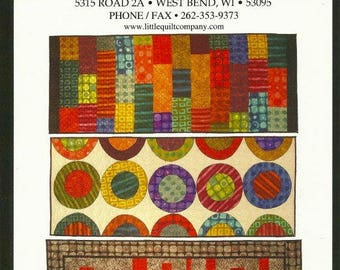 Runner Riot Series 155 by Little Quilt Company-  Quilt Pattern