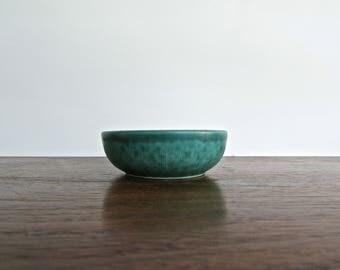 Wilhelm Kaage for Gustavsberg,  Gustavsberg Argenta, Sterling Silver Overlay over Porcelain Small Bowl, MCM Sweden