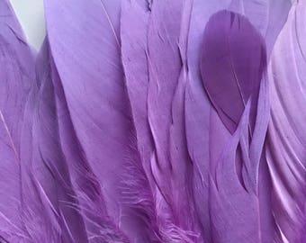 PRIMA GOOSE Feather  /  Wisteria Purple / PR - 52