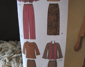 New/Uncut - 2004 Simplicity Easy to Sew Pattern 4886 - Size AA