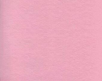 Pink 20/80 Wool Blend Felt 12x18