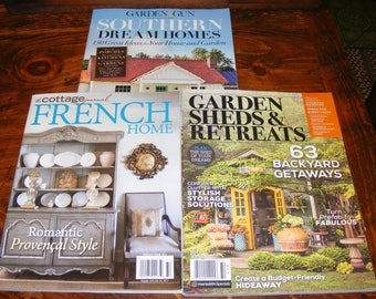 French Home The Cottage Journal 2017 Garden Sheds & Retreats 17 Southern Dream Homes Magazine Lot
