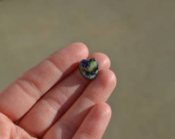 Cultured Opal Heart Cabochon