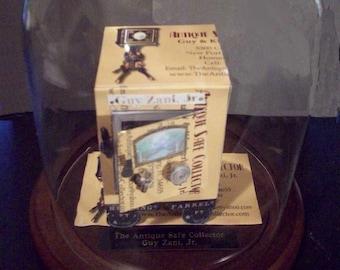 Antique Safe Business Card Sculpture - Design 8902