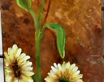 Sunflower Study Original Painting