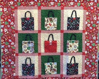 Summer sale Christmas Shopping 48x48 inch art quilt