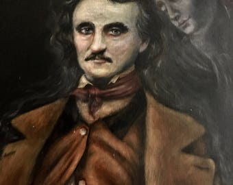 Edgar and Virginia - Poe with His Wife in Spirit