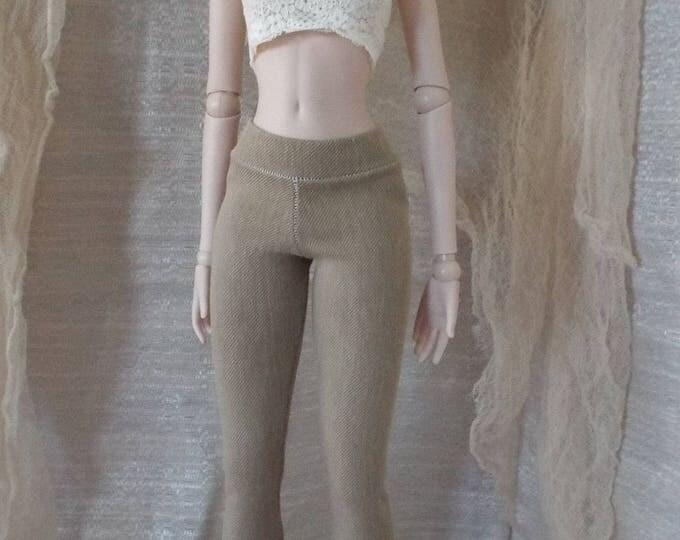 Khaki Jeggings for Smart Doll and Dollfie Dream