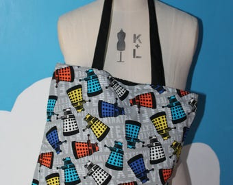 victory of the daleks - doctor who - tote bag