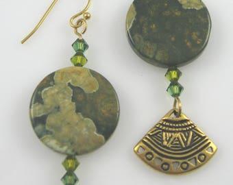 Rhyolite Dangle Earrings