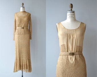 Fortaleza dress and top | vintage 1930s dress | silk lace 30s dress