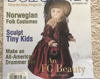 Doll Crafter magazine; September 2003 issue