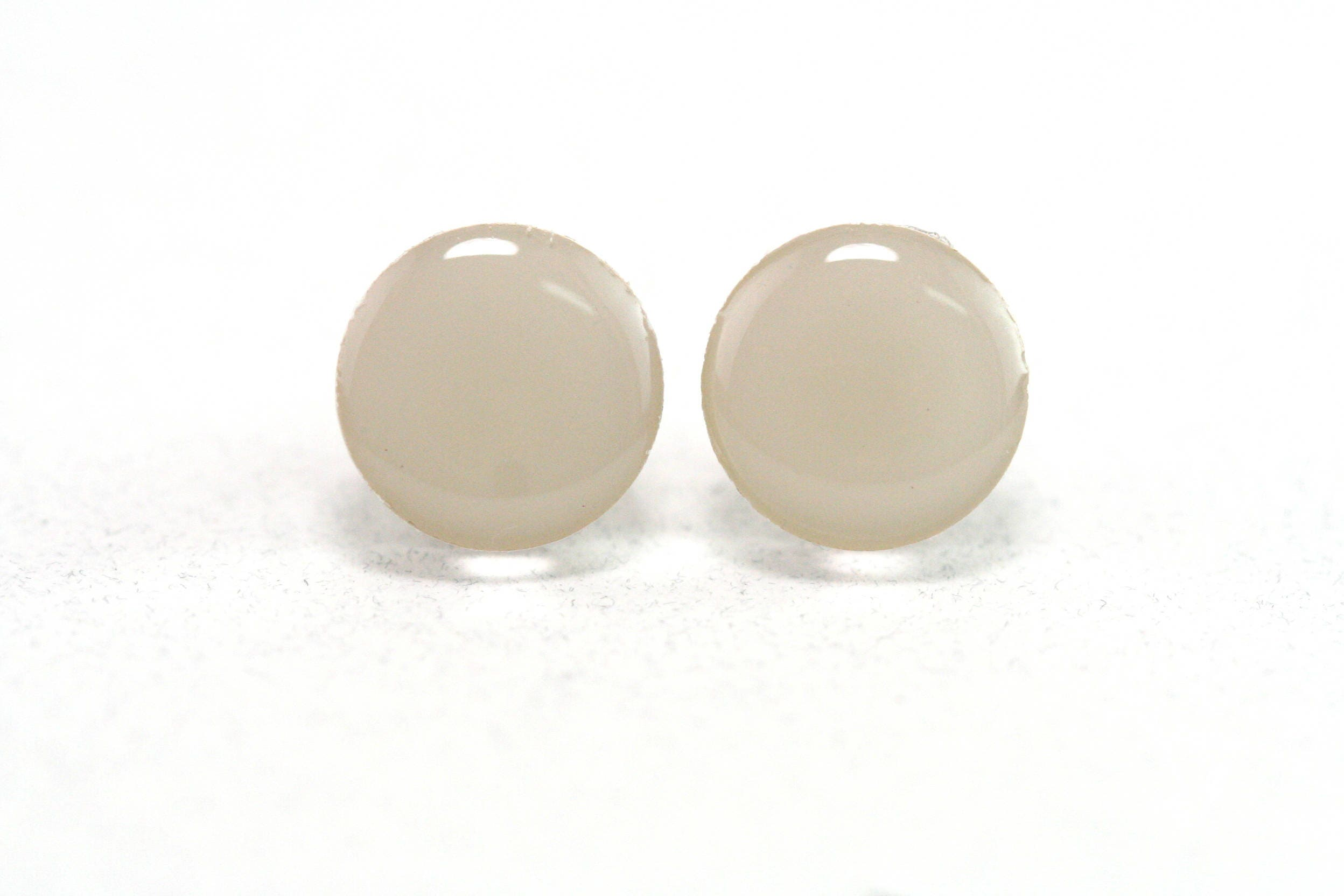 earrings stud ddjr minimalist lightweight fullxfull paint studs beige il round jewelry chip p