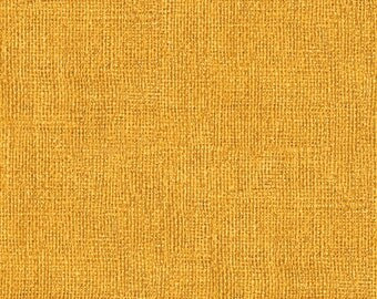 Looks like Burlap but it is soft cotton fabric Gold