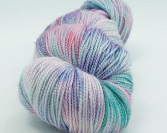 BIG SUMMER SALE Yarn of Letters - Jest 2ply Merino/Nylon Sock - Sparkle the Manicorn