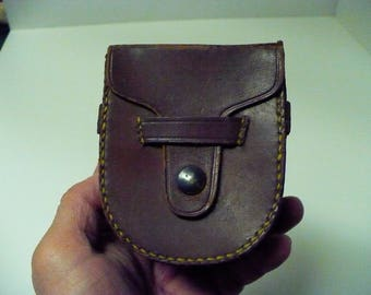 Leather Compass Case