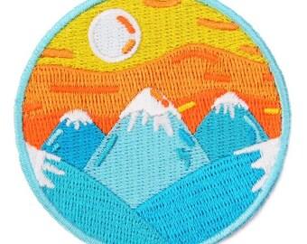 Mountain Sunrise Velcro Patch
